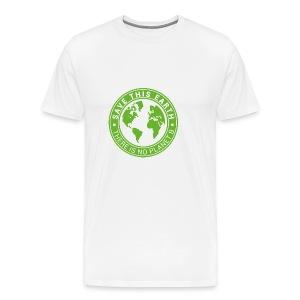 Save this earth - Men's Premium T-Shirt