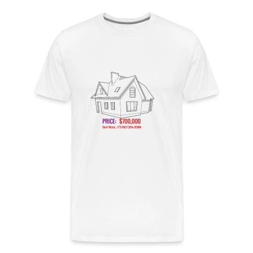 Fannie & Freddie Joke - Men's Premium T-Shirt