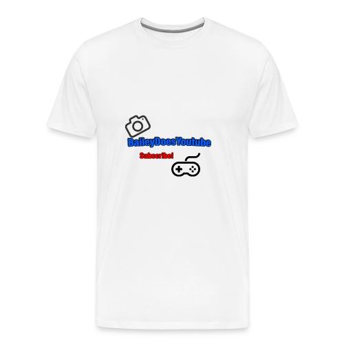 BaileyDoesYoutube - Men's Premium T-Shirt