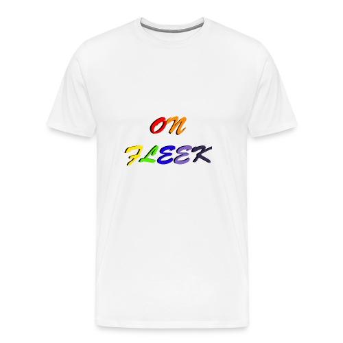 On Fleek -PACER- - Men's Premium T-Shirt
