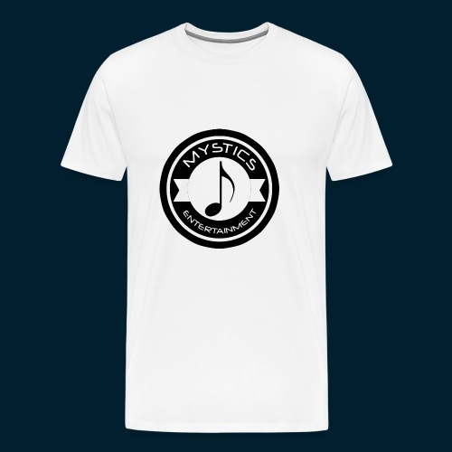 mystics_ent_black_logo - Men's Premium T-Shirt