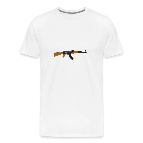 Comin to ya block with the draco - Men's Premium T-Shirt