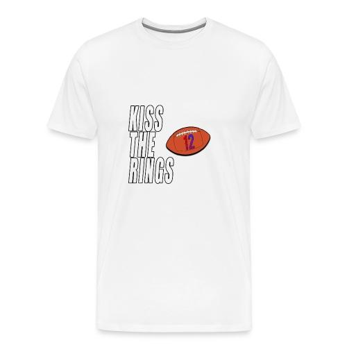 KISS THE RINGS - Men's Premium T-Shirt