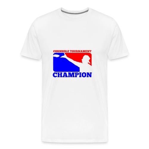Cornhole Tournament Champion - Men's Premium T-Shirt