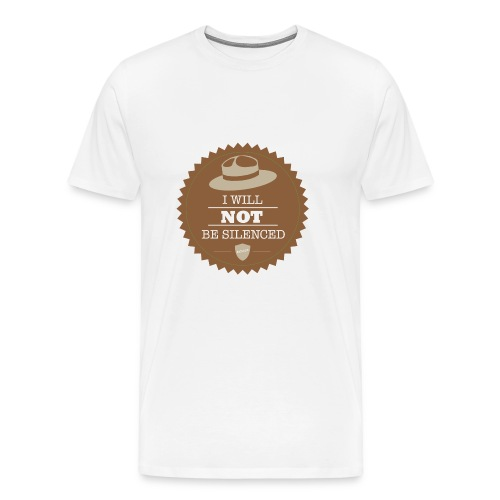 Not be Silenced - Men's Premium T-Shirt