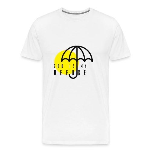 God is my refuge - Men's Premium T-Shirt