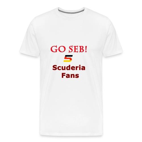 Go Seb! Scuderia Fans design - Men's Premium T-Shirt