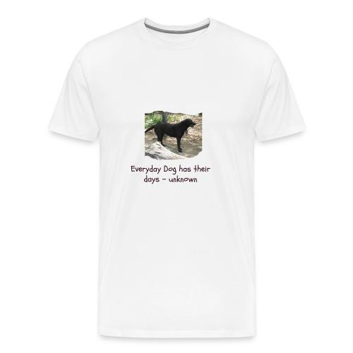 doggie - Men's Premium T-Shirt