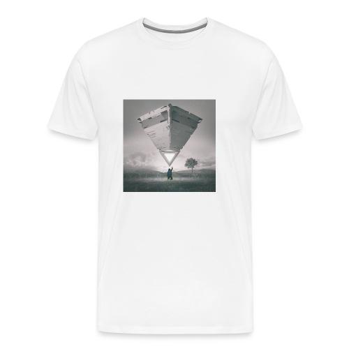 beeple crap 03 18 17 - Men's Premium T-Shirt