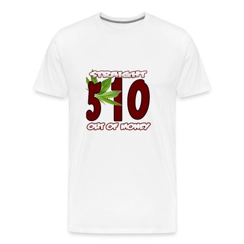 510 Area Code - Men's Premium T-Shirt