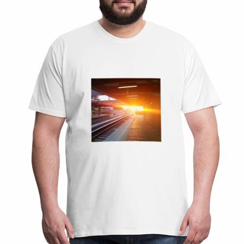 Station Sunrise - Men's Premium T-Shirt