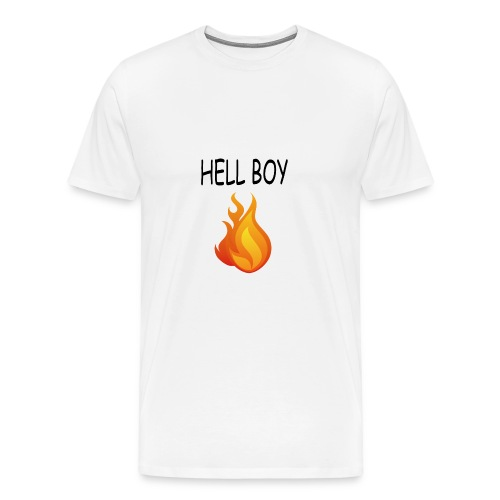 shirt of men new hell boy - Men's Premium T-Shirt