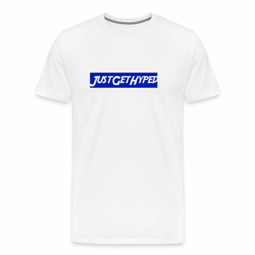 JustGetHyped Supreme Type - Men's Premium T-Shirt