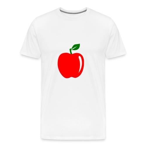 Teacher Apple Minimalist - Men's Premium T-Shirt