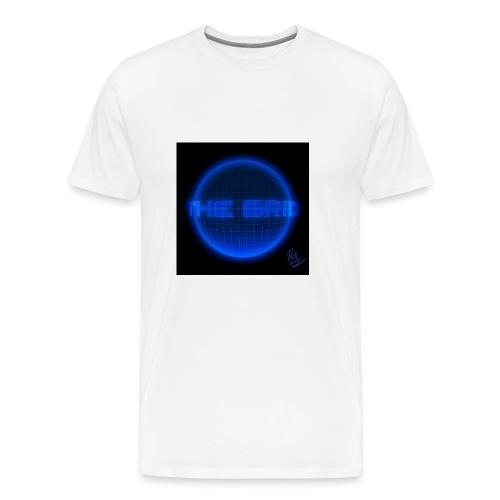 gridline the grid nerd statistics - Men's Premium T-Shirt