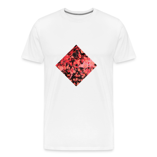 Red Diamond Shape - Men's Premium T-Shirt