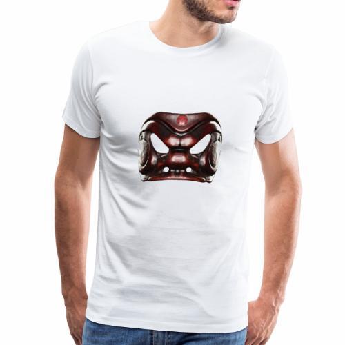 Arlecchino Commedia dell'arte mask by Antonio Fava - Men's Premium T-Shirt