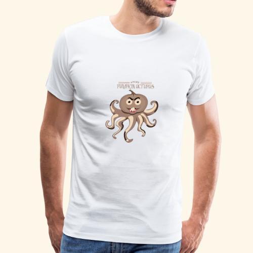 Angry Pumpkin - Men's Premium T-Shirt