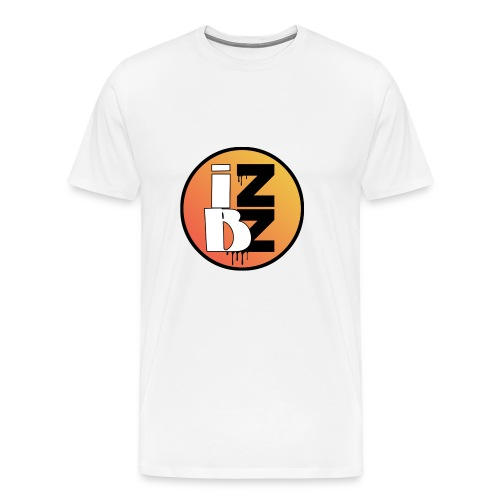 IZBZ Circle Logo - Men's Premium T-Shirt