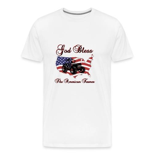 God Bless the American Farmer - Men's Premium T-Shirt