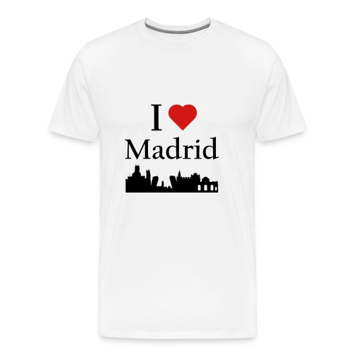 I Love Madrid - Men's Premium T-Shirt