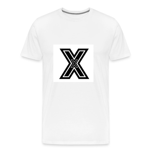 White X - Men's Premium T-Shirt