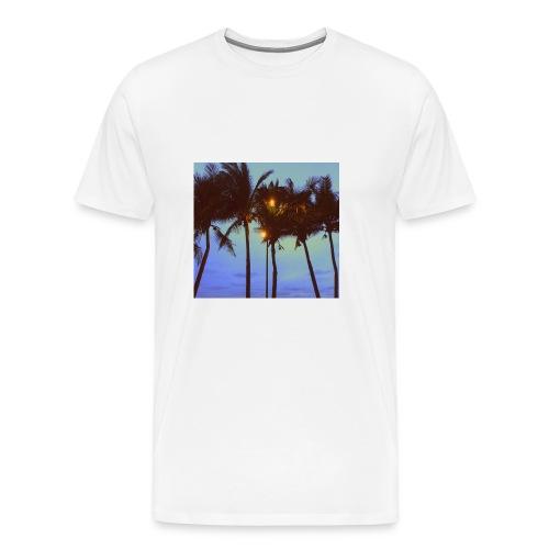 Palm Trees - Men's Premium T-Shirt