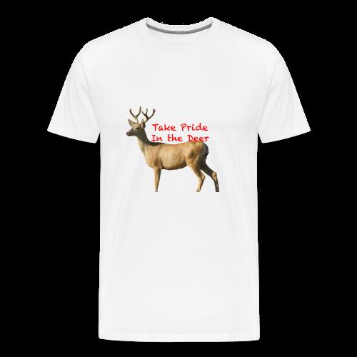 Take Pride in the Deer - Men's Premium T-Shirt