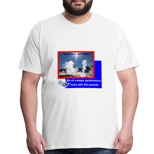 CHILENO DE CORAZÓN - Men's Premium T-Shirt