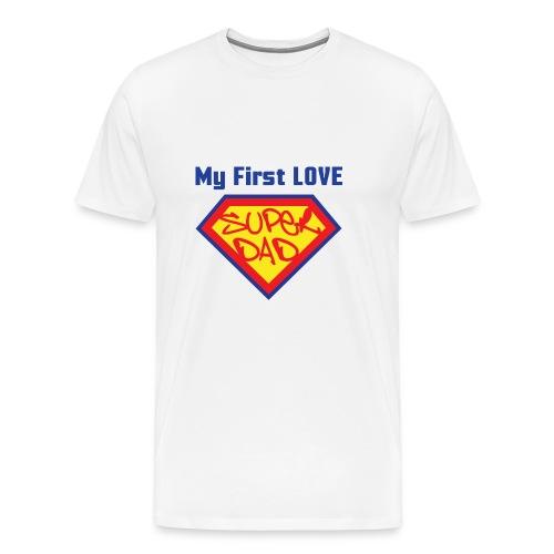 SUPER DAD - Men's Premium T-Shirt