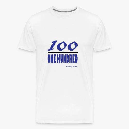ONE HUNDRED BLUE - Men's Premium T-Shirt