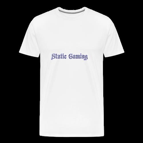 Diamond Static Gaming - Men's Premium T-Shirt