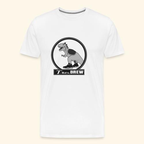 T-Rex BEER Design III - Men's Premium T-Shirt