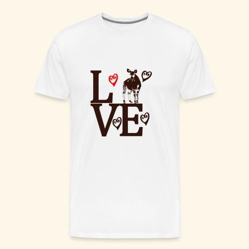 Okapi Love - Men's Premium T-Shirt