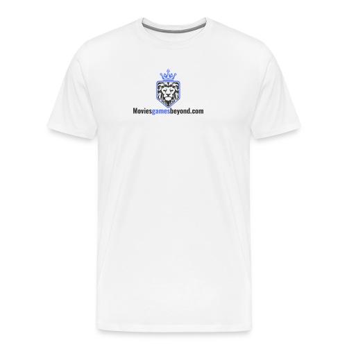 moviesgamesbeyond - Men's Premium T-Shirt
