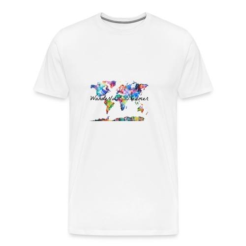 Wanderlust Dreamer - Men's Premium T-Shirt
