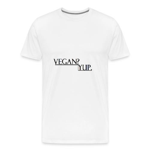how - Men's Premium T-Shirt