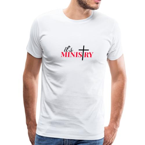 it's MINISTRY - Men's Premium T-Shirt