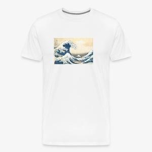 Basic waves - Men's Premium T-Shirt