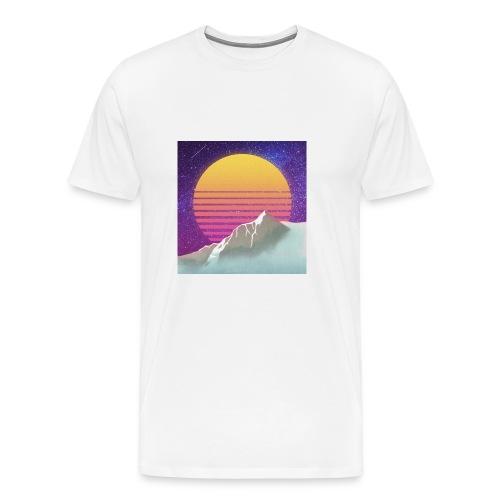 Starry Sunset Aesthetic - Men's Premium T-Shirt