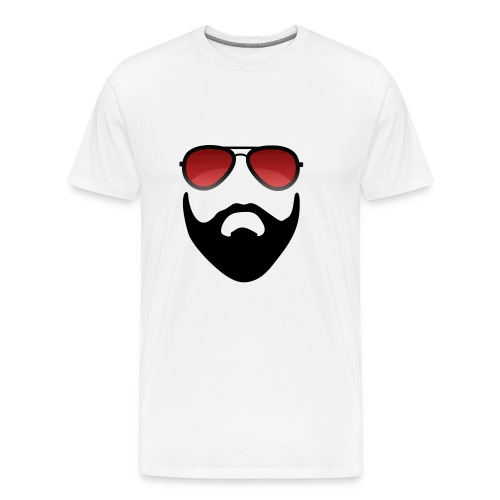 Beard and shades - Men's Premium T-Shirt