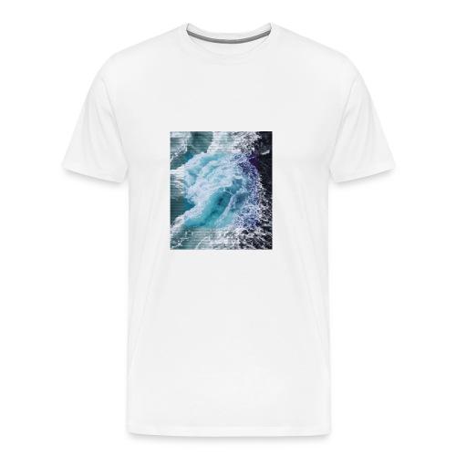 Wavy - Men's Premium T-Shirt