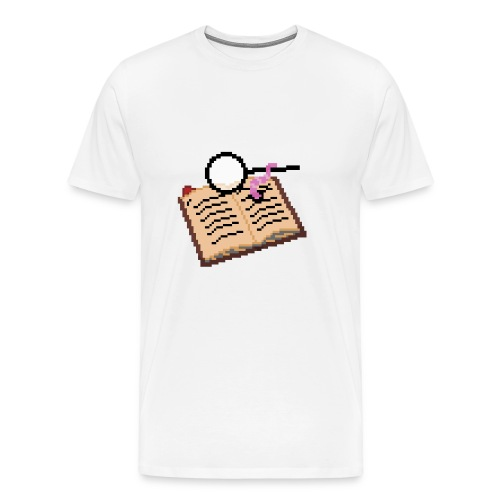 Bookworm - Men's Premium T-Shirt