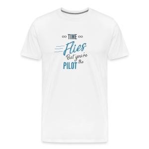 Time Flies - Men's Premium T-Shirt