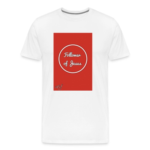 The follower of Jesus collection by Lola Sexton - Men's Premium T-Shirt