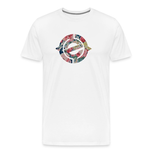 Enter Floral Logo - Men's Premium T-Shirt