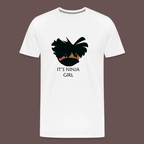 It's Ninja Girl,the Youtuber - Men's Premium T-Shirt