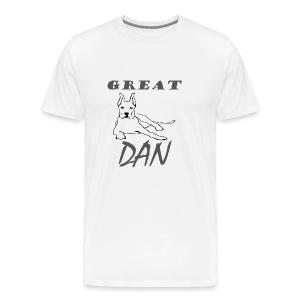 Great Dan Dog Funny Shirt For Dog Lover - Men's Premium T-Shirt