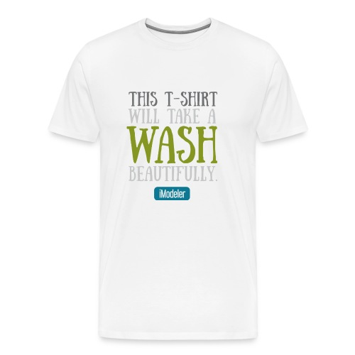 This T-Shirt Will Take A Wash Beautifully. - Men's Premium T-Shirt