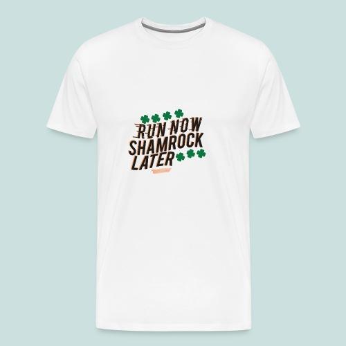 Shamrock Later - Men's Premium T-Shirt